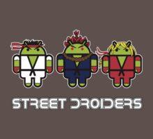 Street Droiders (Ryu, Akuma, Ken) Baby Tee