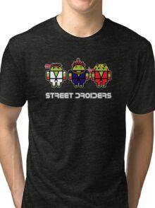 Street Droiders (Ryu, Akuma, Ken) Tri-blend T-Shirt