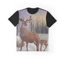 Winter Sunrise Graphic T-Shirt