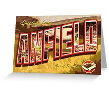 Greetings from Anfield (Liverpool FC) Greeting Card