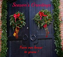 Season's Greetings ! by Nancy Richard