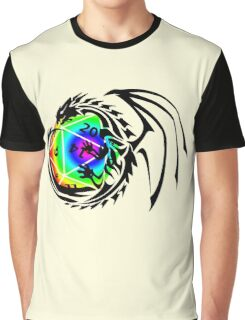 Dungeons and Dragons - Black and Rainbow (Prismatic)! Graphic T-Shirt