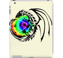 Dungeons and Dragons - Black and Rainbow (Prismatic)! iPad Case/Skin