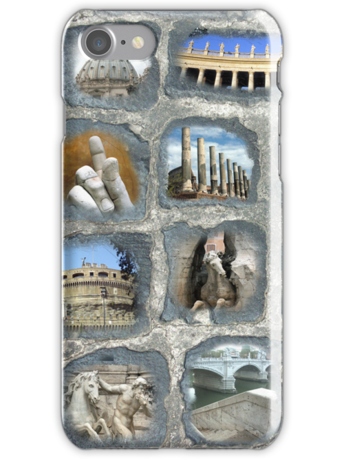 walking on History I I - iPhone case by Sandro Rossi