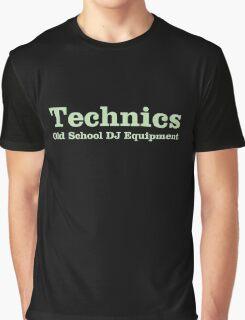 Technics Green Graphic T-Shirt