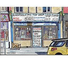 toy shop for nerds Photographic Print
