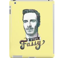 Stay Fassy (blue) iPad Case/Skin