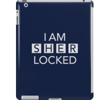 Sherlocked Blue iPad Case/Skin