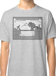 Super Mario Final Koopa Vintage Engraving Classic T-Shirt