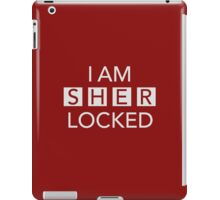 Sherlocked Red iPad Case/Skin