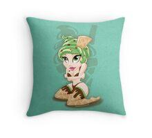 Sweet <3's - Miss Sundae Throw Pillow