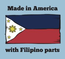 Made In America With Filipino Parts One Piece - Short Sleeve
