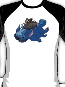 Flying Friends #2: Lilo the Last Airbender T-Shirt