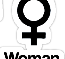 Man, Woman, Geek Sticker