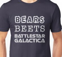 Bears Beets Battlestar Galactica Tshirt | The Office Michael Scott Dunder Mifflin Dwight Schrute Unisex T-Shirt