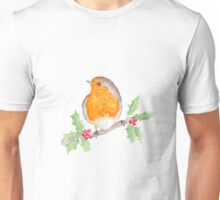 Holly Robin Unisex T-Shirt