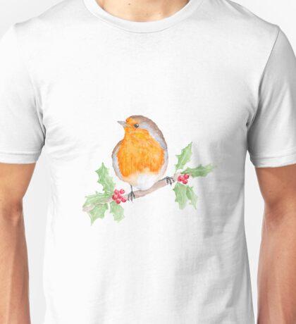 Holly Robin Unisex T-Shirt