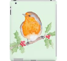 Holly Robin iPad Case/Skin