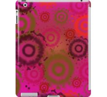 Bright Pink Tie Dyed Circles, iPad Case iPad Case/Skin