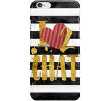 I Love 2 Chat iPhone 6 Case iPhone Case/Skin