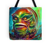 Creature from the black lagoon. Tote Bag