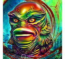 Creature from the black lagoon. Photographic Print