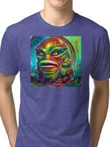 Creature from the black lagoon. Tri-blend T-Shirt