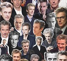 Peter Capaldi Collage by unicorndeni