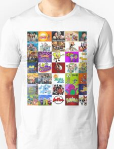 90's Kid Cartoon Mashup T-Shirt