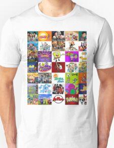 90's Kid Cartoon Mashup T-Shirt