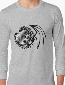 Dungeons and Dragons - Black and Silver! Long Sleeve T-Shirt