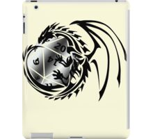 Dungeons and Dragons - Black and Silver! iPad Case/Skin