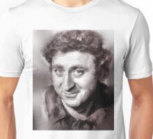 Gene Wilder Hollywood Icon by John Springfield Unisex T-Shirt