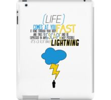 A Lot Like Lightning iPad Case/Skin