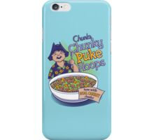 Chunk's Chunky Puke Hoops iPhone Case/Skin