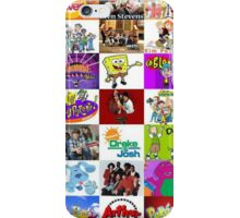90's Kid Cartoon Mashup iPhone Case/Skin