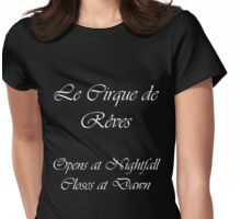 The Night Circus Womens Fitted T-Shirt