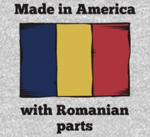 Made In America With Romanian Parts One Piece - Long Sleeve