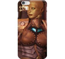 Steampunk Android iPad and iPhone Case iPhone Case/Skin