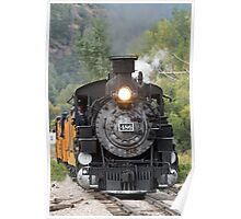 Durango & Silverton Historic Train Poster