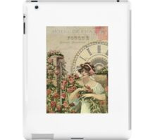 Old french poster iPad Case/Skin