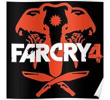 FarCry 4 - White Logo Poster
