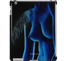 In The Blue Mood iPad Case by k Madison Moore iPad Case/Skin