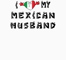I Love My Mexican Husband Womens Fitted T-Shirt