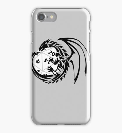 Dungeons and Dragons - Black and White! iPhone Case/Skin