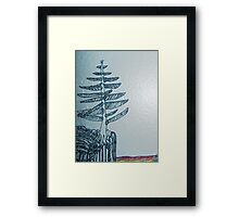 Lone with Emilys breeze. Framed Print