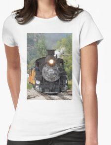 Durango & Silverton Historic Train Womens Fitted T-Shirt
