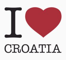 I ♥ CROATIA by eyesblau