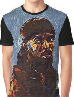 Omar Little by VanGogh - www.art-customized.com Graphic T-Shirt