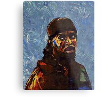 Omar Little by VanGogh - www.art-customized.com Metal Print